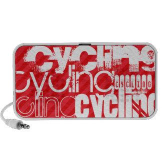 Cycling; Scarlet Red Stripes Speaker