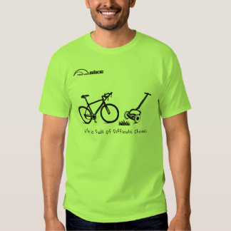 Cycling Shirt - Life is Full of Difficult Choices