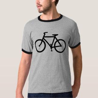 cycling silhouette tshirt