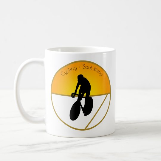 Cycling Soul Rising Coffee Mug
