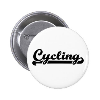 Cycling sports 6 cm round badge