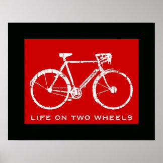 cycling sports print decor print