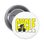 Cycling T-shirts and Gifts. 6 Cm Round Badge