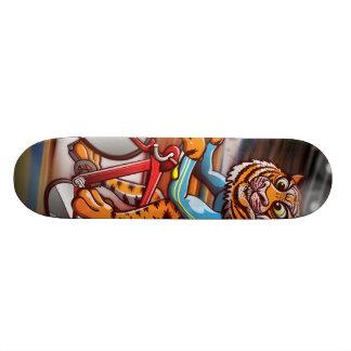 Cycling Tiger 21.3 Cm Mini Skateboard Deck