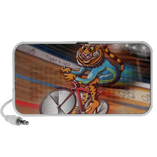 Cycling Tiger Laptop Speaker