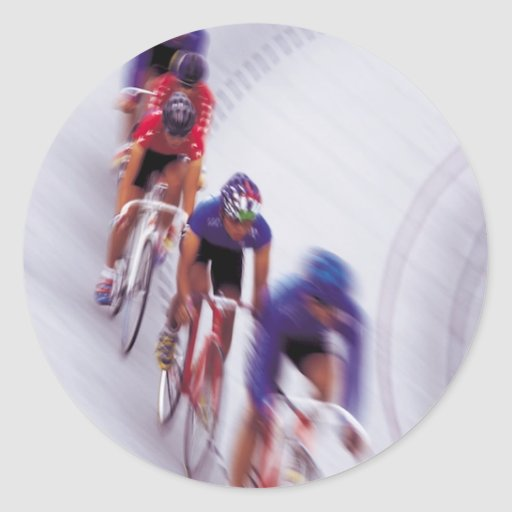 Cycling Track Race Bicycle Cycle Bicycling Stickers