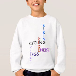 Cycling Word Puzzle Sweatshirt
