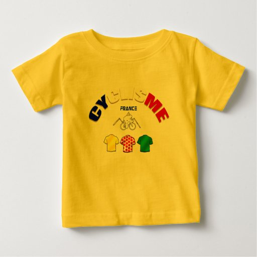 Cyclisme France Cycling Gift Ideas Baby T-Shirt