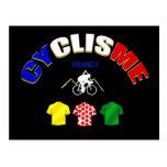 Cyclisme France Cycling Gift Ideas Postcard