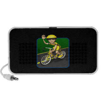 Cyclist 4 travel speakers