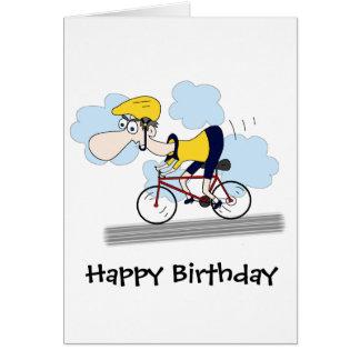 Cyclist Card