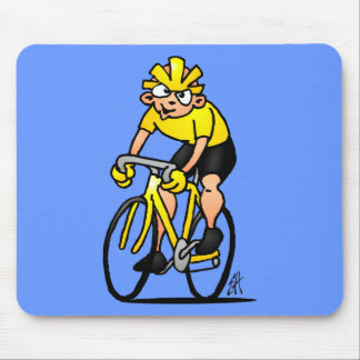 Cyclist - Cycling Mouse Mat