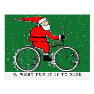 Cyclist Holidays Postcard