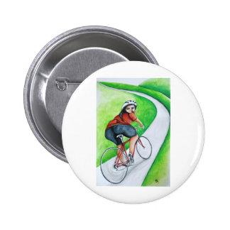 Cyclist - Kiss Goodbye 6 Cm Round Badge