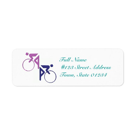 Cyclist Mailing Labels