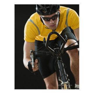 Cyclist Postcard