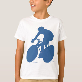 Cyclist Silhouette Kids T-shirt