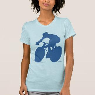 Cyclist Silhouette T-shirt T Shirts