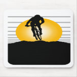 Cyclist T-shirts and Gifts. Mouse Pads