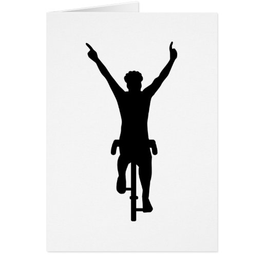 Cyclist winner cards