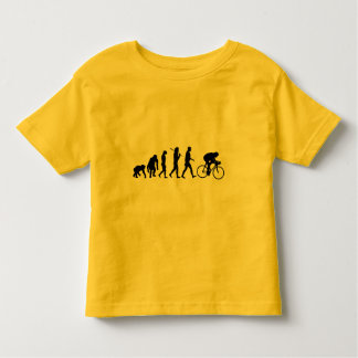 Cyclists Cycling evolution Bicycle Riders Toddler T-Shirt