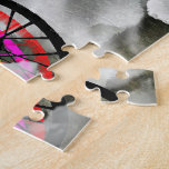 Cyclists Cycling in the Clouds Jigsaw Puzzles