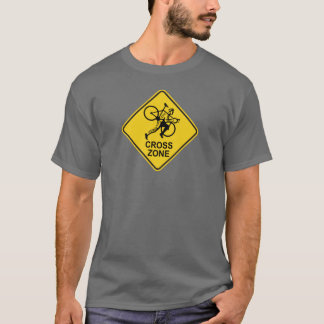 Cyclocross Zone Road Sign T-Shirt
