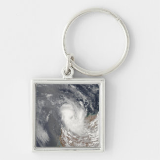 Cyclone Dominic off the shore of Western Austra Key Ring