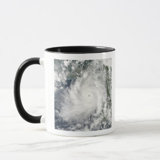 Cyclone Giri moves ashore over Burma Mug