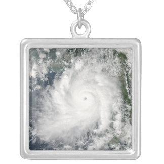 Cyclone Giri moves ashore over Burma Silver Plated Necklace