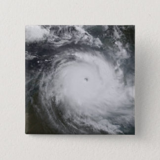 Cyclone Monica in the south Pacific Ocean 15 Cm Square Badge