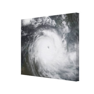 Cyclone Monica in the south Pacific Ocean Canvas Print