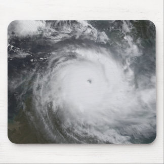 Cyclone Monica in the south Pacific Ocean Mouse Mat