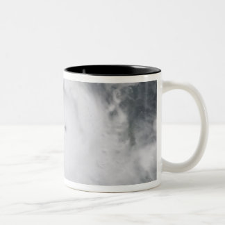 Cyclone Monica in the south Pacific Ocean Two-Tone Coffee Mug