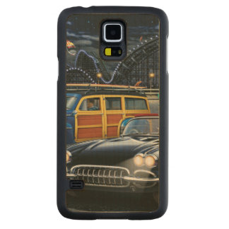 Cyclone Racer Carved Maple Galaxy S5 Case