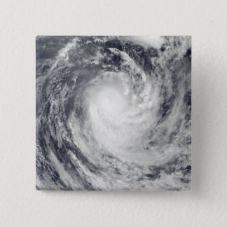 Cyclone Rene over the South Pacific Ocean 15 Cm Square Badge