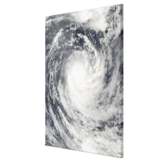 Cyclone Rene over the South Pacific Ocean Canvas Print