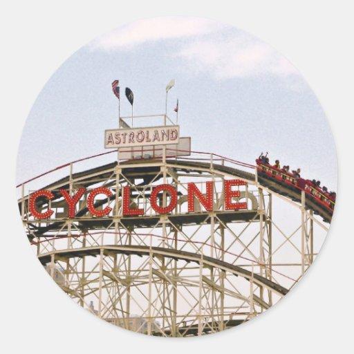 Cyclone Roller Coaster - Coney Island, NYC sticker