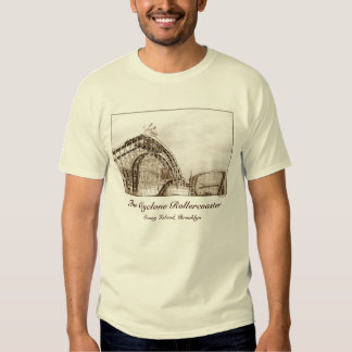 Cyclone Rollercoaster Adult T-shirt
