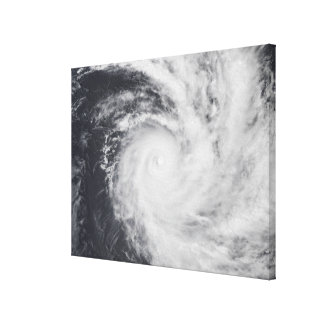 Cyclone Zoe in the South Pacific Ocean Canvas Print