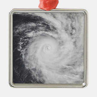 Cyclone Zoe in the South Pacific Ocean Christmas Ornament