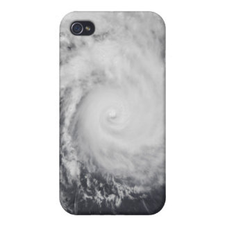 Cyclone Zoe in the South Pacific Ocean iPhone 4 Case