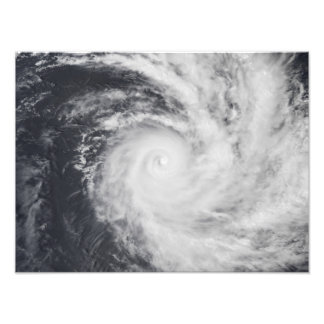Cyclone Zoe in the South Pacific Ocean Photo Art