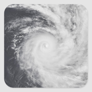 Cyclone Zoe in the South Pacific Ocean Square Sticker
