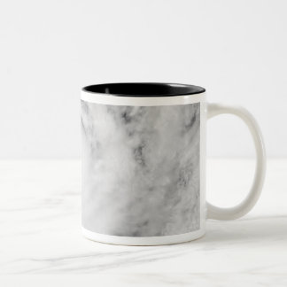 Cyclone Zoe in the South Pacific Ocean Two-Tone Coffee Mug