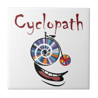 Cyclopath Small Square Tile