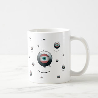 Cyclops goggled eye classic white coffee mug