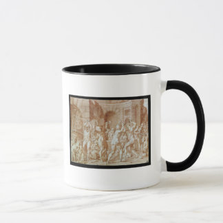 Cyclops in the Forge of Vulcan Mug