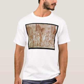 Cyclops in the Forge of Vulcan T-Shirt