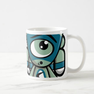 Cyclops Mascot Basic White Mug